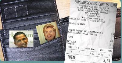 El Ticket Obama Clinton