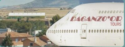 Avión aterrizando en Daganzo… de Ariiba