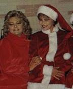 Kim y Mayra de navidad