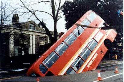 Bus en agujero del 8%