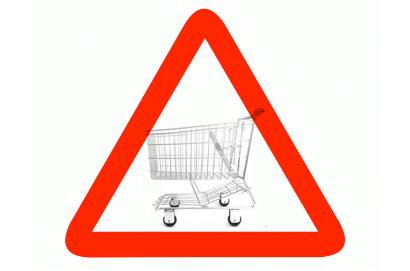 peligro carritos